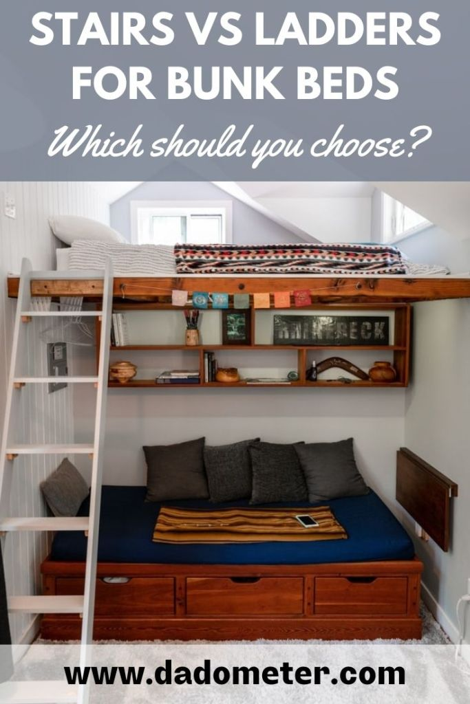 stairs vs ladders for bunk beds